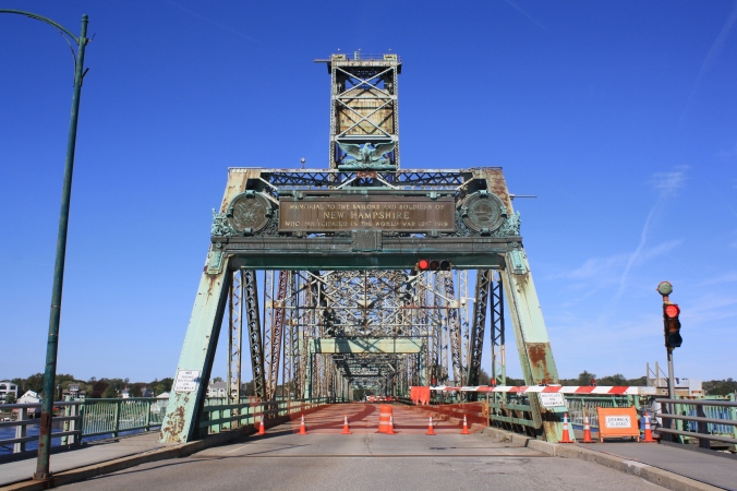 Old Memorial Bridge, close forever