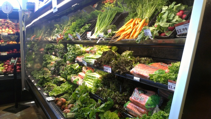 Fresh, local produce at Monadnock Food Co-op