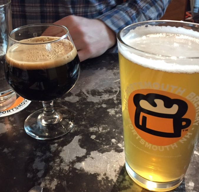 Portsmouth Brewery Royal Impy and California Common